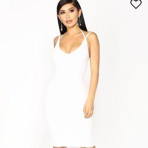 Ribbed halter Midi dress - NWT - Fashion Nova